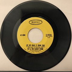 SLY & THE FAMILY STONE:DANCE TO THE MUSIC(RECORD SIDE-B)