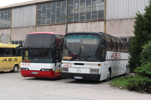 aes bus coach m43t546 neoplantransliner t73m129 mercedesbenzo303