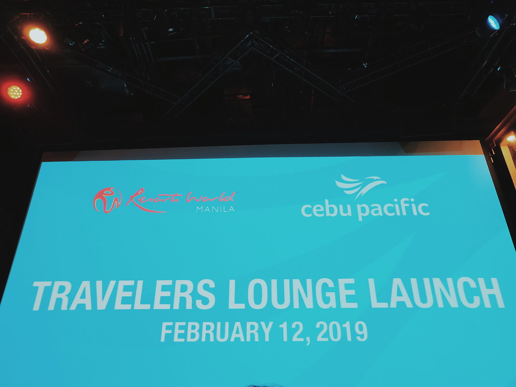 Cebu Pacific's Travelers Lounge at RWM