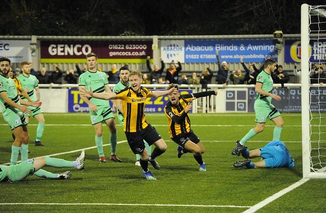 VNL: Maidstone United 2-3 Gateshead