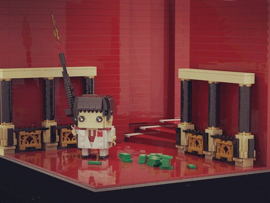Say hello to my little friend!!  #brickheadz #出賣年齡系列 #scarface #theworldisyours #TonyMontana #AlPacino #レゴ #lego #legomocs #legomoc #legos #legobricks #bricks #legophoto #legoart #moc #legocreation #legostagram #legophotography #レゴ作品 #legography #legogram