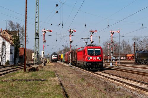 187 139 mit EZ 51621 (Halle-Zwickau) am 23.03.2019 in Altenburg