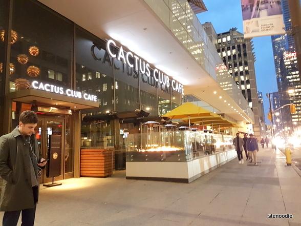 Cactus Club Café storefront