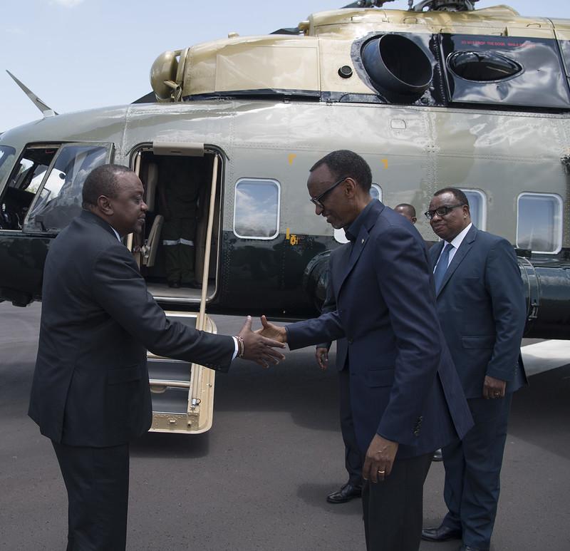 Visit of President Uhuru Kenyatta to Rwanda | Gabiro, 11 March 2019