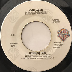 VAN HALEN:JUMP(LABEL SIDE-B)