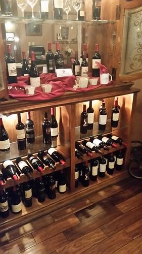 Mizpah Hotel Wine Rack