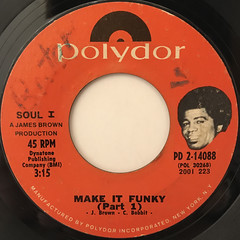 JAMES BROWN:MAKE IT FUNKY(LABEL SIDE-A)