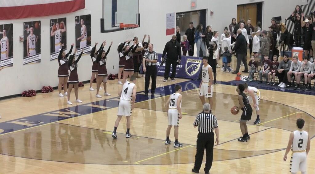 Okemos Boy's Basketball Get Win at Dewitt