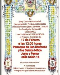 Misa Hermandad febrero 19