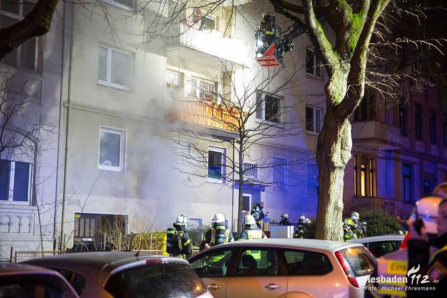 Zimmerbrand Wielandstraße 11.02.19