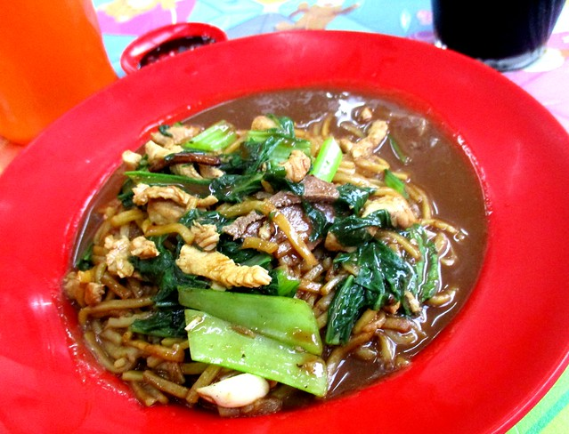 Foochow fried noodles 1