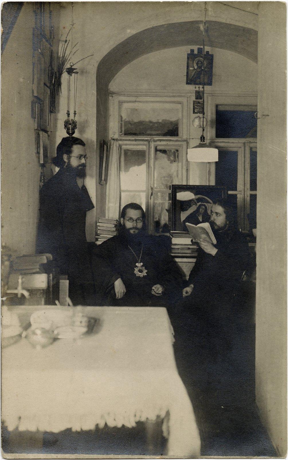 Епископ Волоколамский Феодор (Поздеевский), викарий Московской епархии в Московской Духовной Академии.