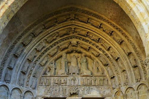 20090528 025 1107 Jakobus lAdour Kirche Wesen Köpfe