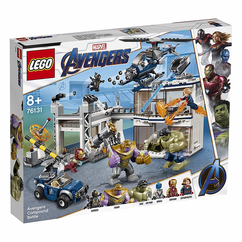 Avengers Compound Battle (76131)