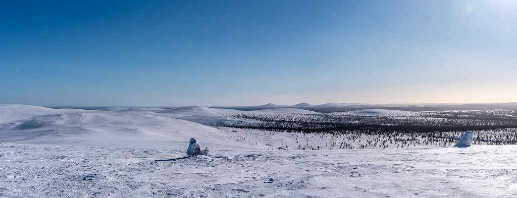 Nattaset as seen from the top of Kiilopää