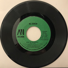 EL COCO:COCOMOTION(RECORD SIDE-B)