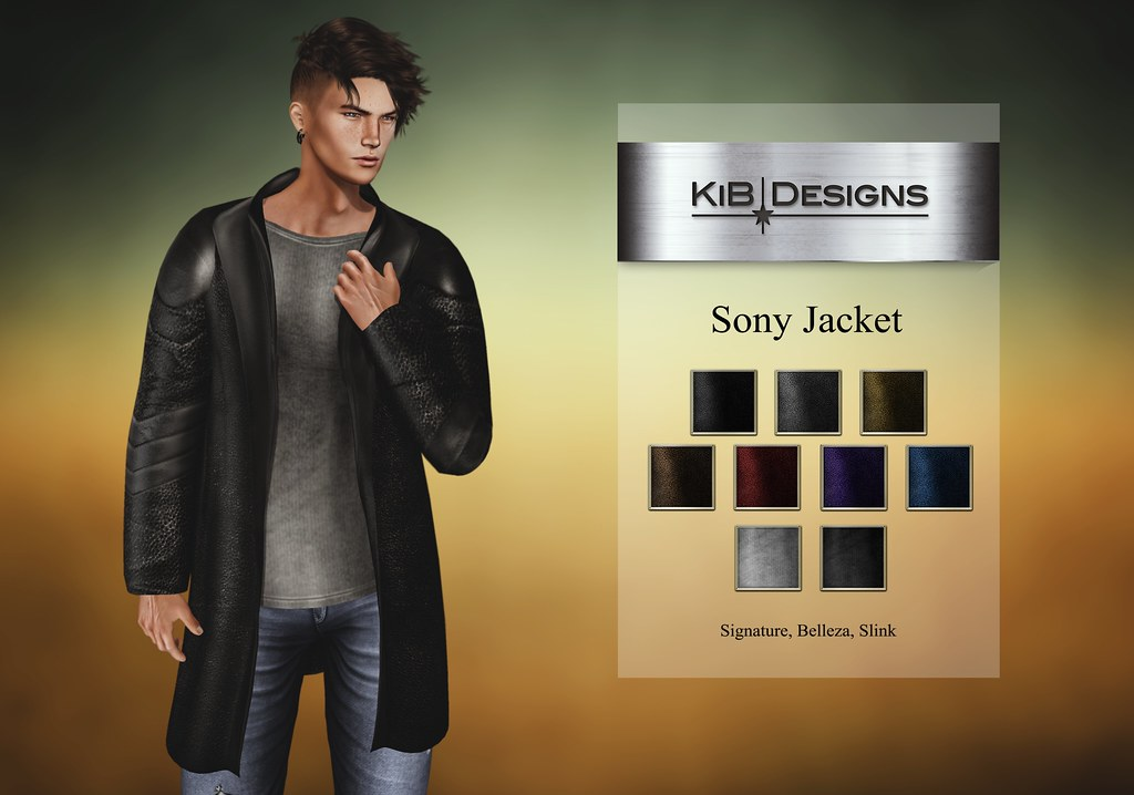 KiB Designs – Sony Jacket @Darkness Event