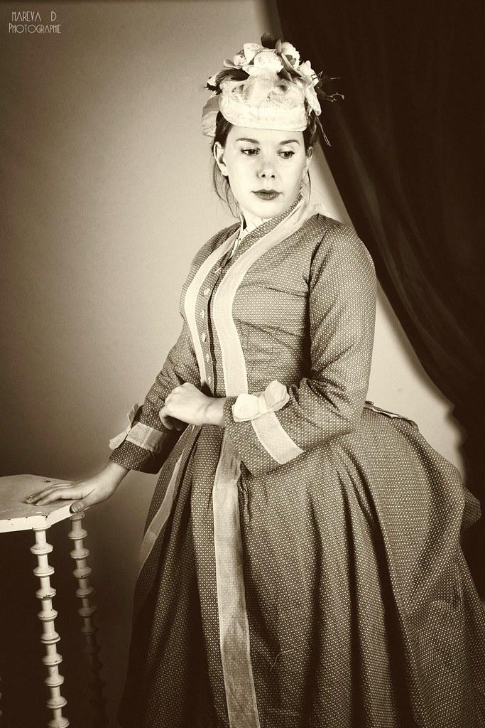 Portrait façon 1870