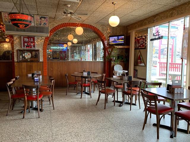 Anthony's Pizza Town - Bordentown NJ New Jersey 2018 - Retro Roadmap