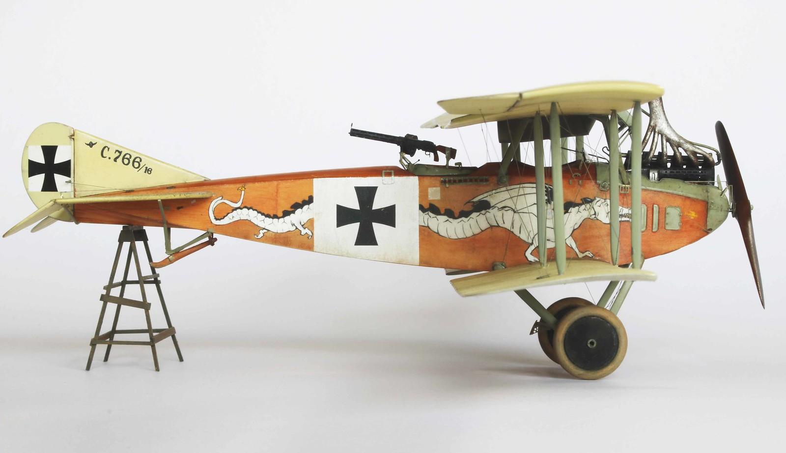 1/48 Albatros C. III   Crocodile et Dragon - Page 2 31798602477_a62f835369_h