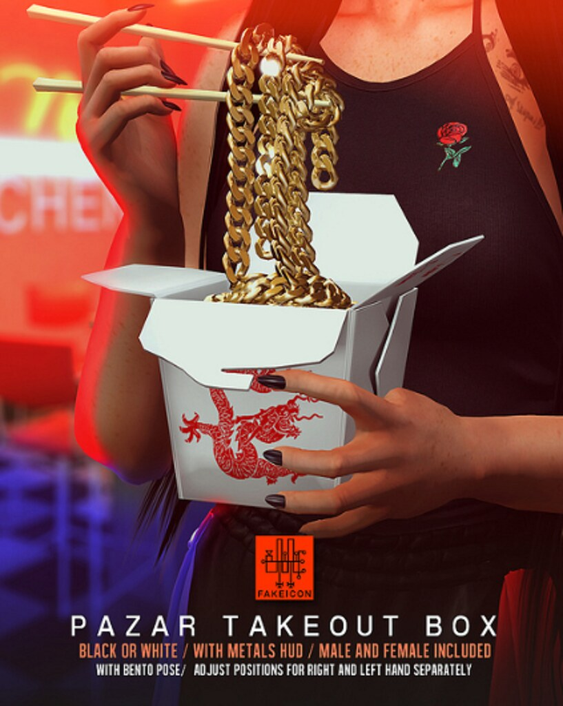 FAKEICON – pazar takeout box @ equal10