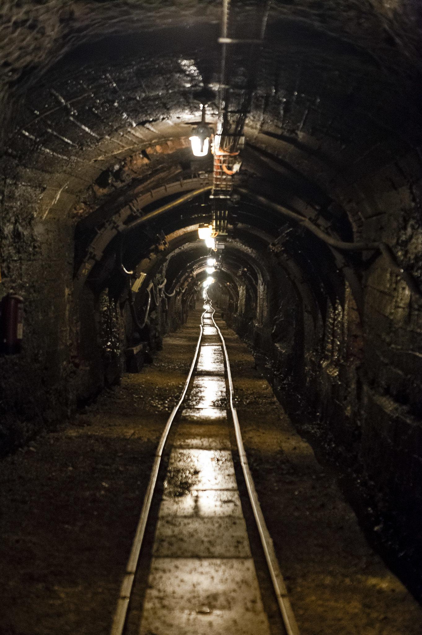 Túnel de la mina
