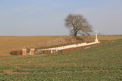 Beaumont Hamel British Cemetery. The Somme, WW1. France.