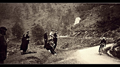 1913 TDF Descent of the Tourmalet