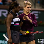 Eugenie Bouchard, Sloane Stephens
