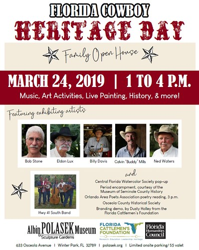 Florida Cowboy Heritage Day is FREE