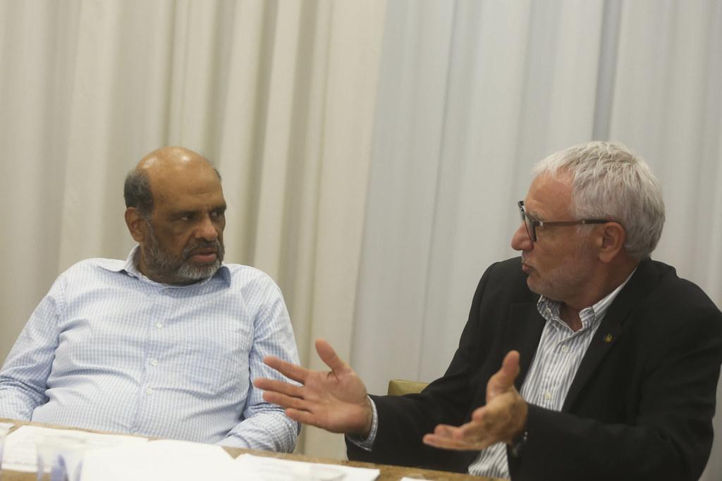 Reunião com Secretário de Estado da Fazenda Rene de Oliveira Garcia Junior