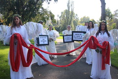 Climate Angels at Extinction Rebellion Declaration Day Melbourne - IMG_4366