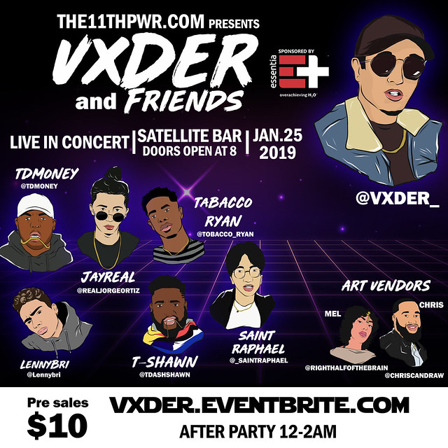 VXDER & FRIENDS: Live In Concert