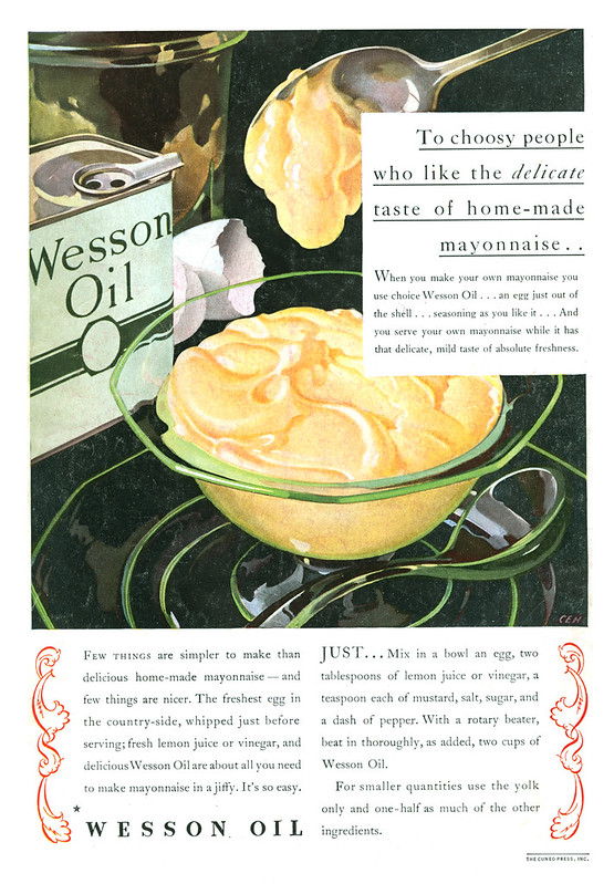 Wesson Oil 1933