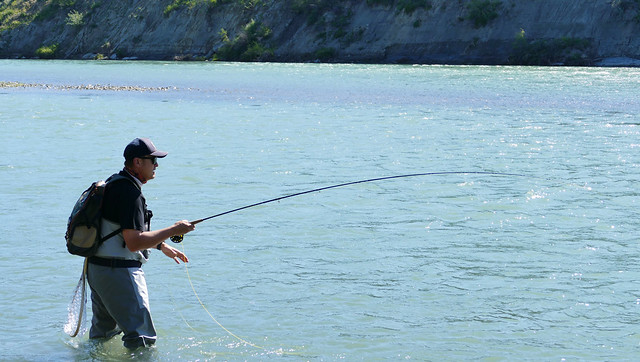 Fishing for better recreation on the Bow River