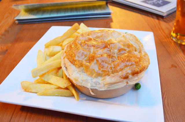 Steak and ale pie, York