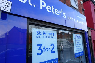 St Peter's Cleaners has moved down Fylde Road, Preston | by Tony Worrall