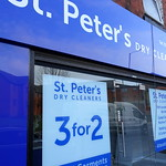 St Peter's Cleaners has moved down Fylde Road, Preston