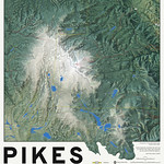 Pikes Peak Hiking Map