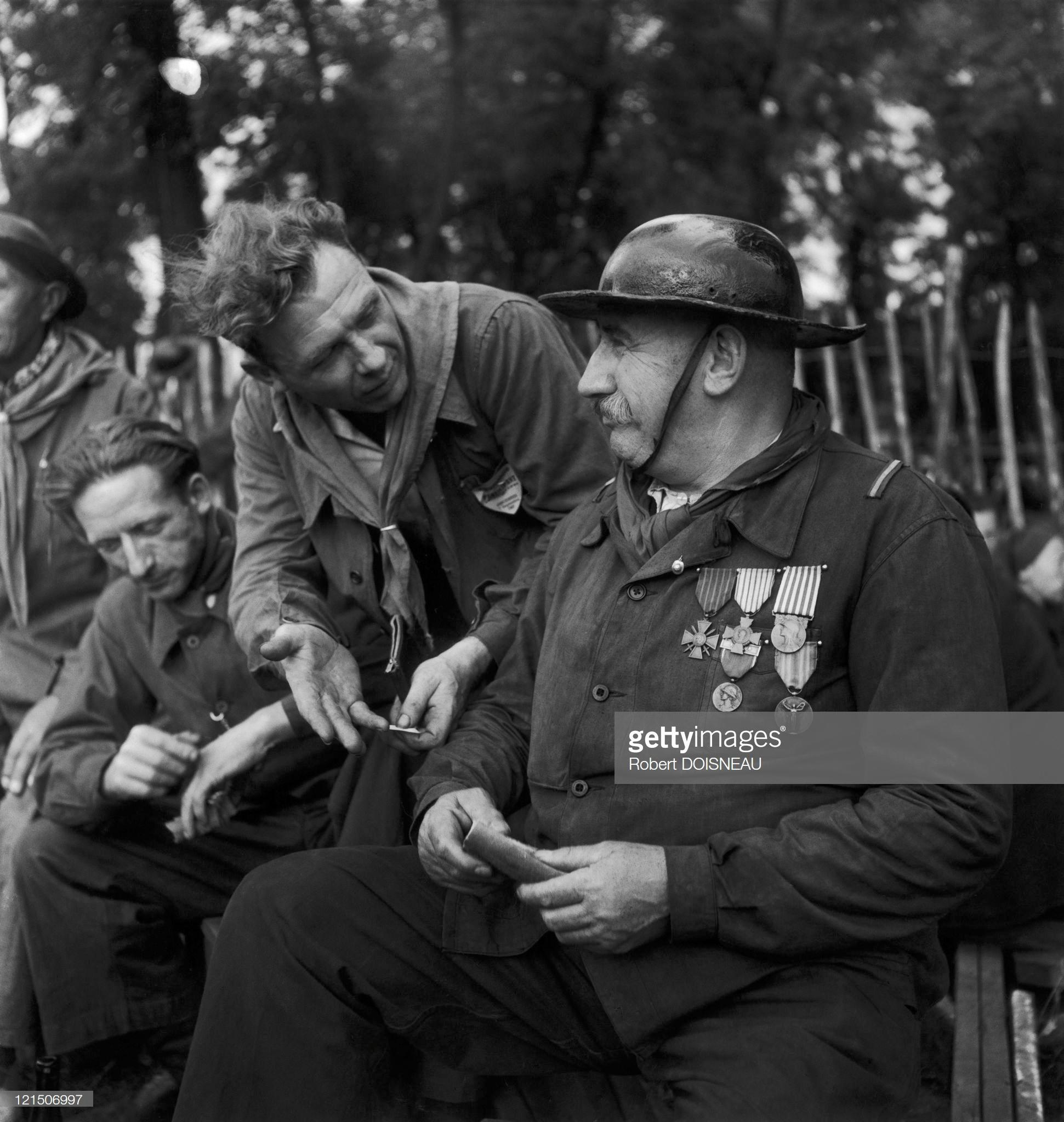 1945. Праздник газеты «Юманите»