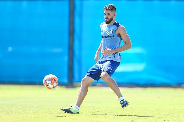 Treino Grêmio 09/02/19
