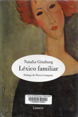 Natalia Ginzburg, Léxico familiar