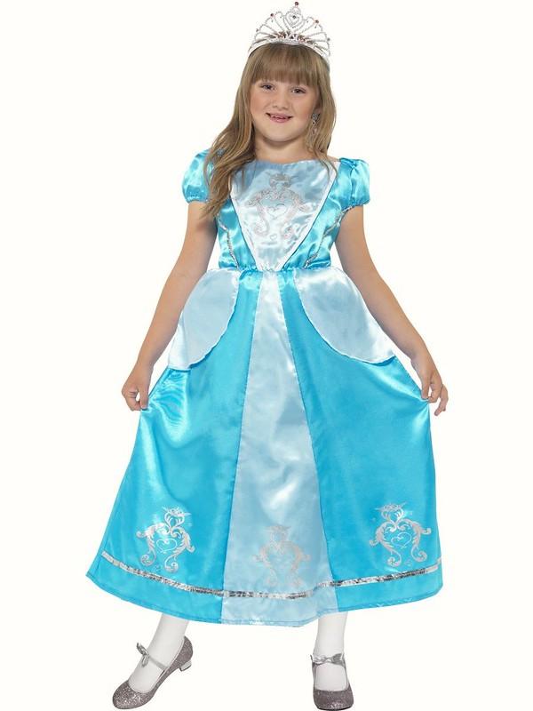 Girl Girls Rapunzel Style World Book Day Fancy Dress Costume Various Sizes