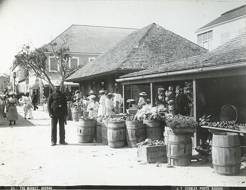 J.F. Cooley - The Market Nassau, ca 1890 | by The Caribbean Photo Archive