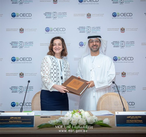 OECD and United Arab Emirates renew partnership to strengthen tax co-operation