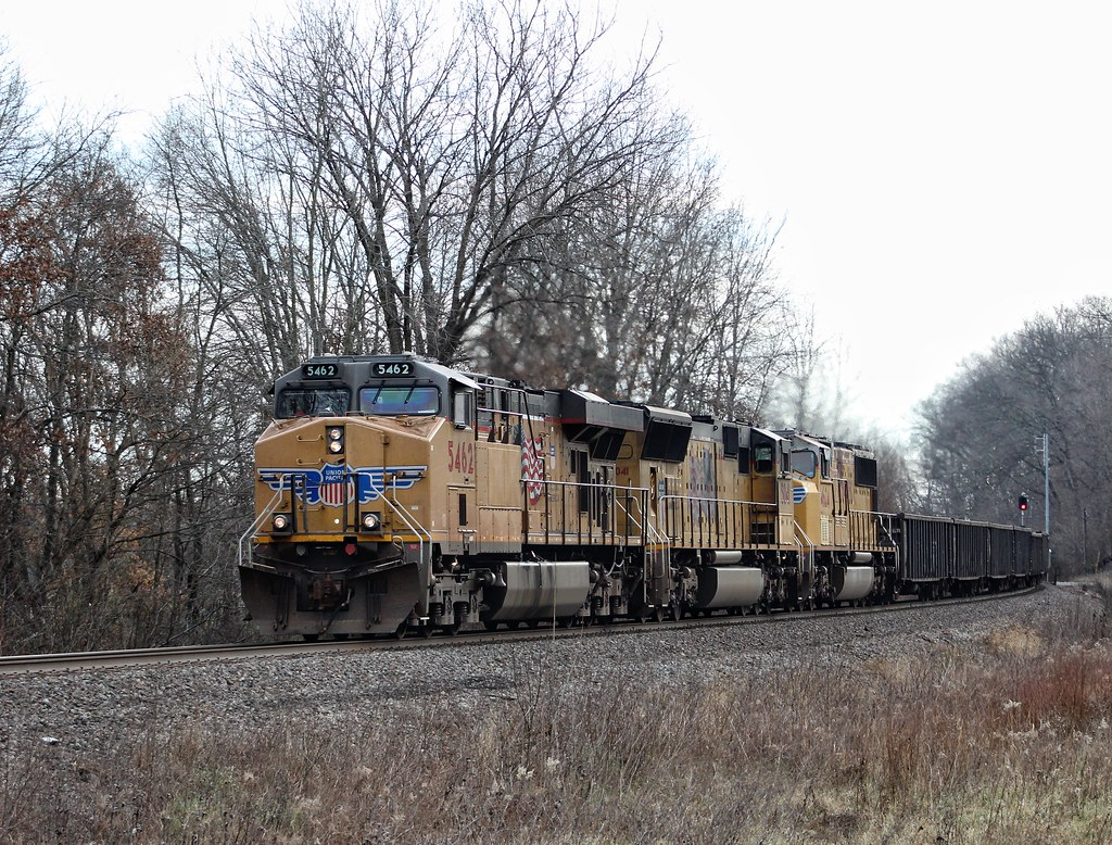 Up 5462 At Mt Vernon Illinois Northbound On The Up Mt Ver Flickr