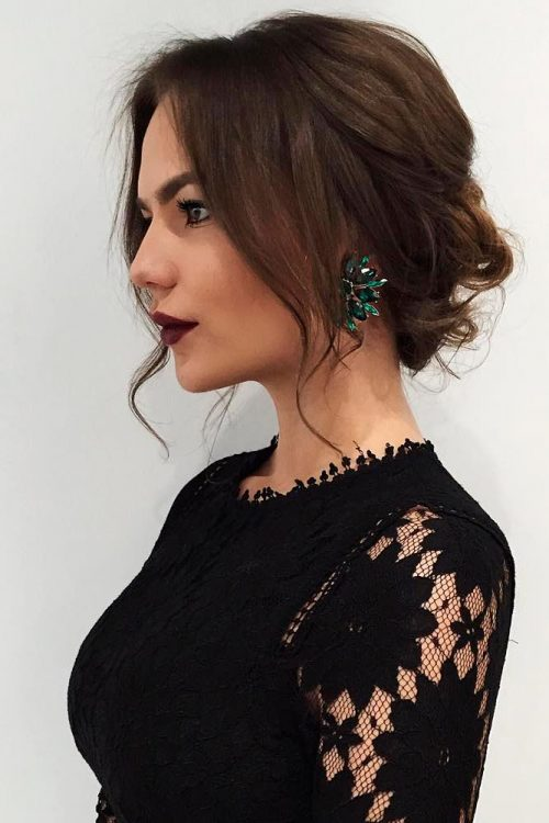 How To Get Stunning Updos For Medium Length Hair Fashion 2d