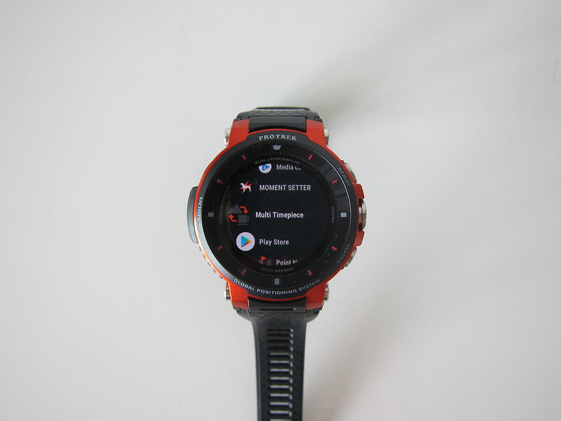 Casio WSD-F30 - Apps