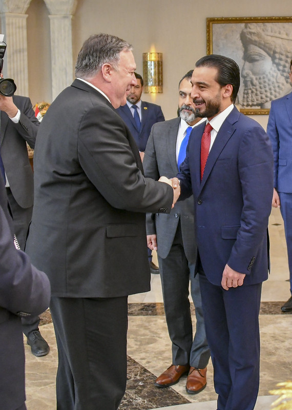 Secretary Pompeo Meets Iraqi Speaker Muhammad Halbusi