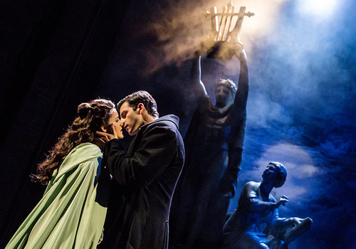 Eva Tavares and Jordan Craig - photo by Matthew Murphy. From Why You Need to See the Phantom of the Opera